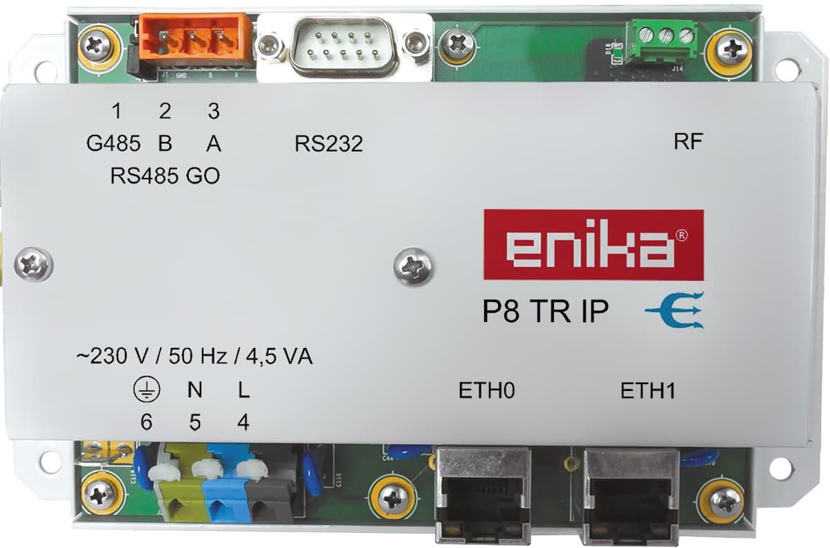 Interface IP du système Poseidon® - ENIKA P8 TR IP