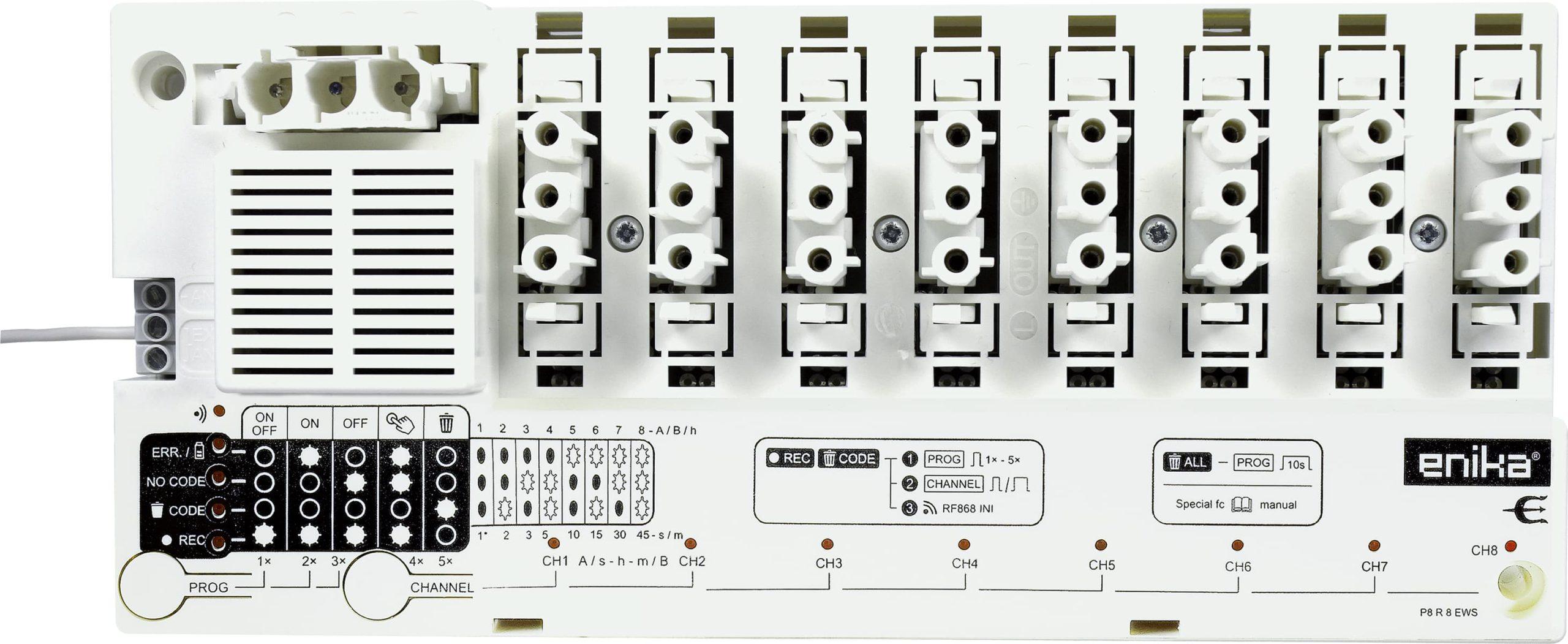 Récepteur 8 voies Poseidon® - ENIKA